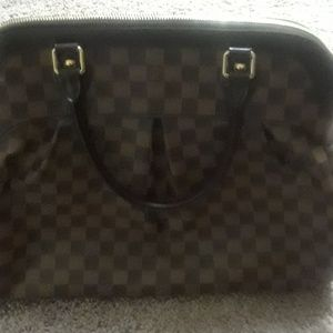 LV authentic Handbag with duster bag no flaws